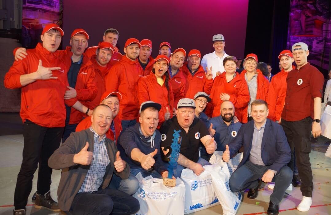 Команда КВН «Северстали», 2-е место