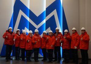 Металлурги и горняки Челябинской области на ММК