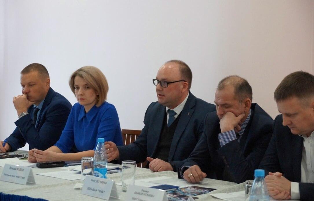 Выступает Вячеслав Волков, председатель профкома «ОСК», Группа ММК