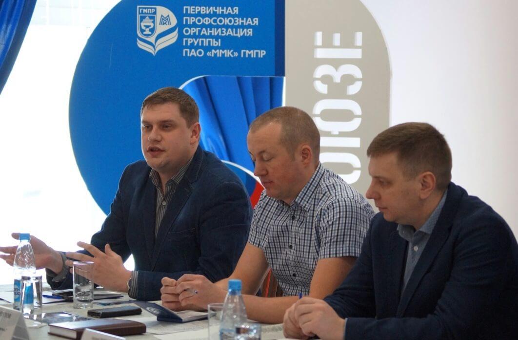 Выступает Илья Маклаков, председатель совета молодежи дивизиона «Северсталь Российская сталь»