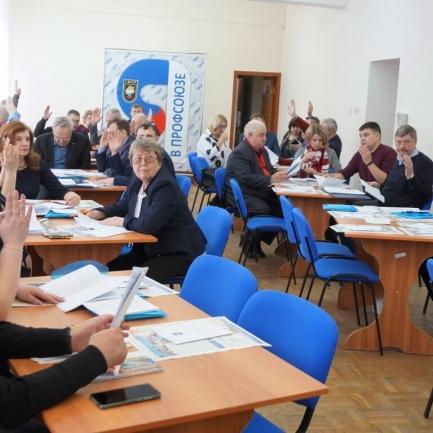 VIII выездной пленум комитета областной организации ГМПР