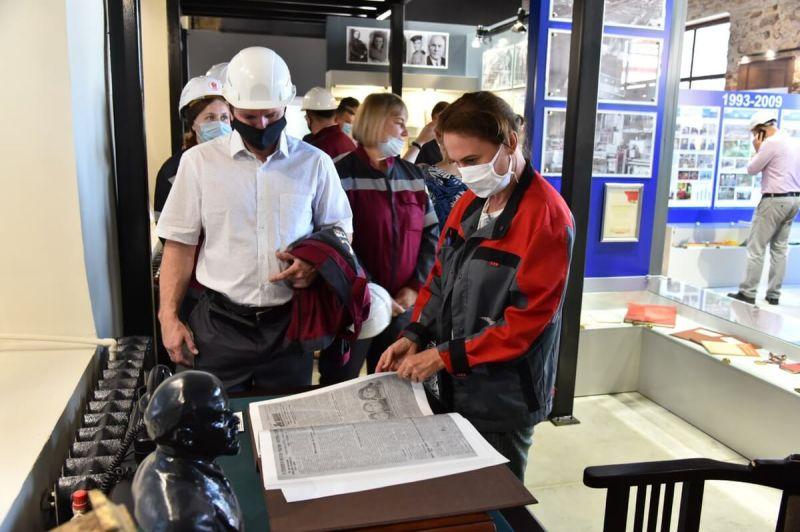 В новом музее Челябинского цинкового завода
