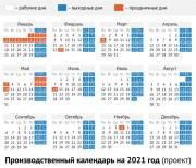 Приближается время утверждения графиков отпусков на 2021 год.