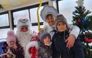 И Дед Мороз принимал, и трамвайчик ездил