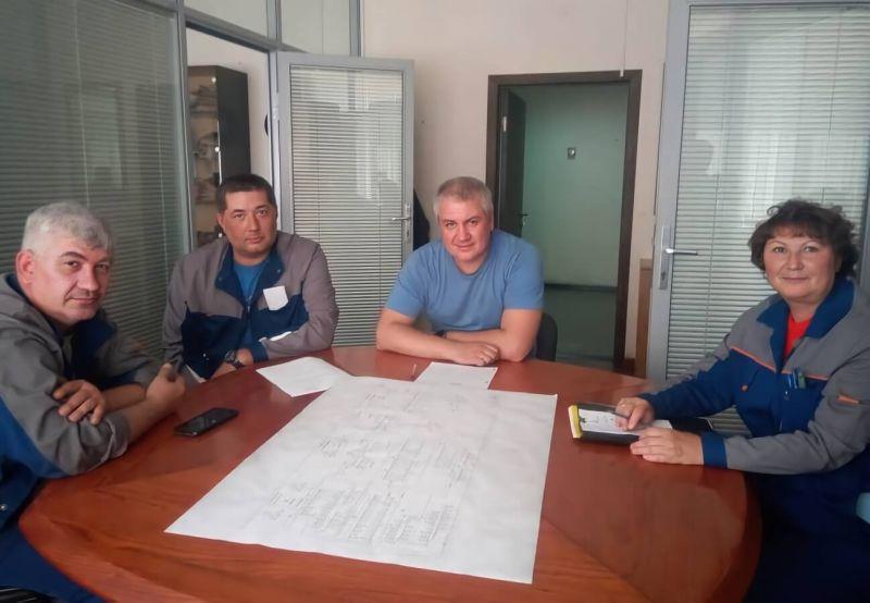 Участники коллективных переговоров в «Донкарб графит» с профсоюзной стороны