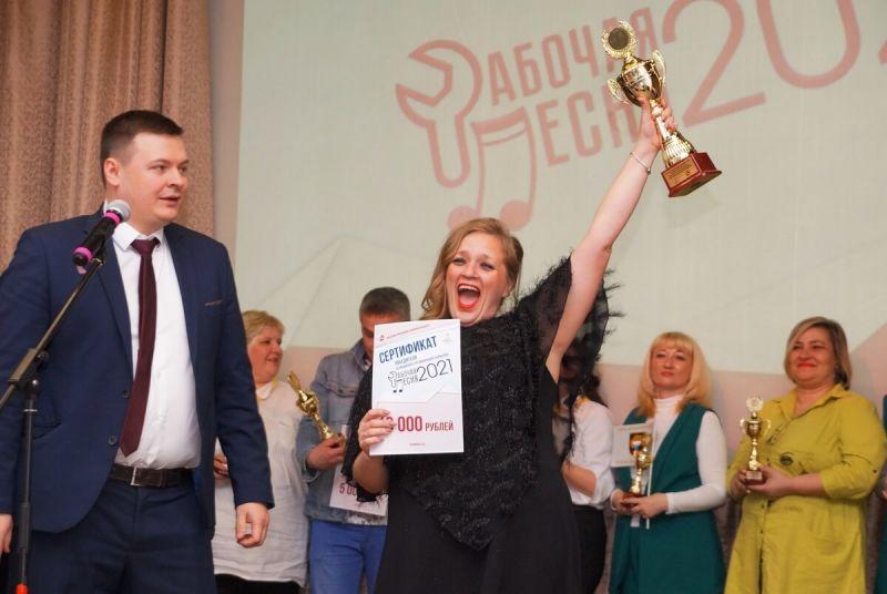 С главной наградой Наталья Назаренко