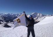 Флаг ГМПР подняли над Эльбрусом