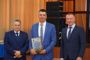 Торжественный прием в честь юбилея профорганизации Группы ММК