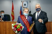 Металлург стал почетным гражданином