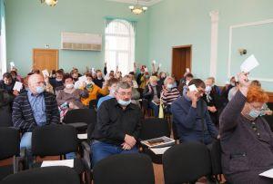 Отчетно-выборная конференция профсоюзной организации Бакальского рудоуправления